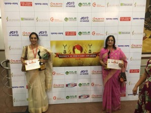 Dr. Anuradha Shrikhande and Dr. Meharbano Kamal Honoured with the Women Achiever's Award-2019, Bestowed to Women of   Vidarbha for their contribution towards women empowerment on 5th April 2019